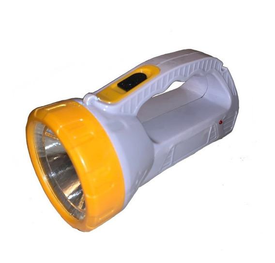 Linterna Recargable De Emergencia 12 + 1 Led Spotlight