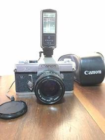 Câmera Analógica Antiga Cânon Ft Ql