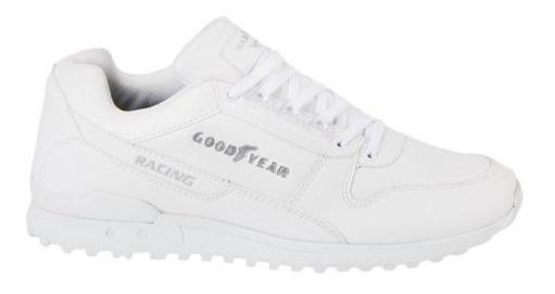 Tenis Casual Blanco Goodyear Racing 3794