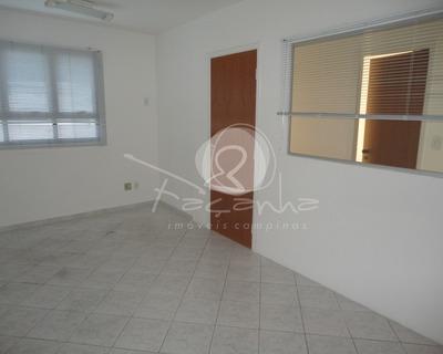 Sala Comercial Para Venda Ou Locação Na Vila Itapura. Imobiliária Em Campinas. - Sa00186 - 33951501