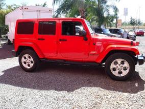 Jeep Wrangler Unlimited Sahara 4x4 At 2015