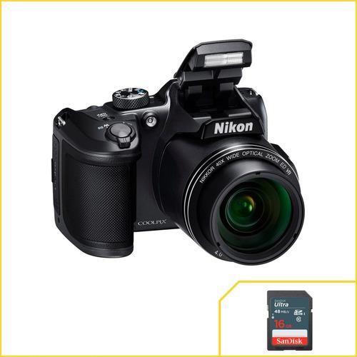 Câmera Nikon Coolpix B500 - Temos Loja