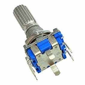 3 Pcs Potenciômetro Digital Rotary Encoder Com Switch