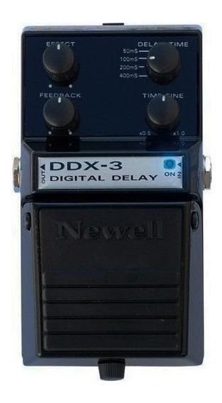Pedal De Efeito P/ Guitarra Ddx-3 Digital Delay Newell