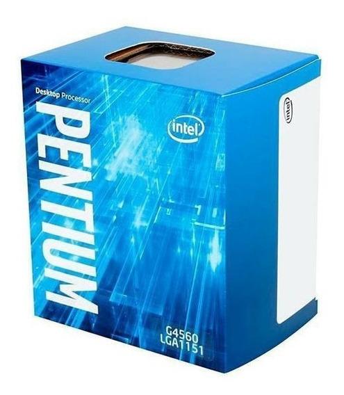 Processador Intel Pentium G4560 Kaby Lake, Cache 3mb,