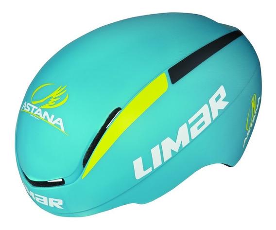 Casco Bicicleta Ruta Profesional Limar 007 Astana Team