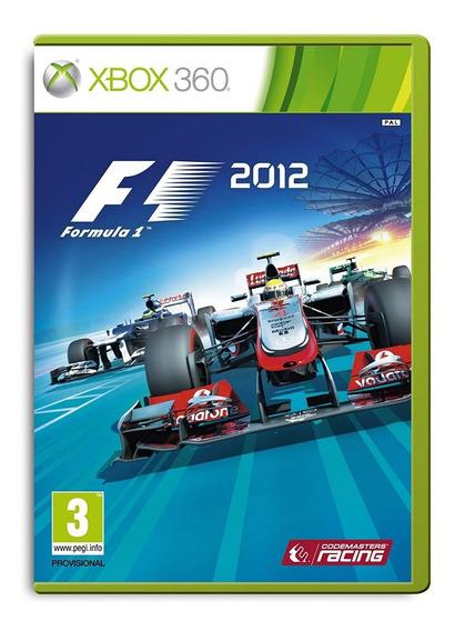 Fórmula 1 2012 - Xbox 360 Fisica Semi Novo