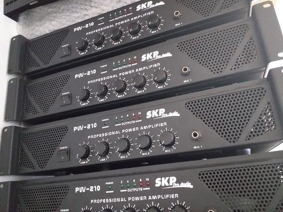Amplificador De Som Ambiente - Skp Pw210