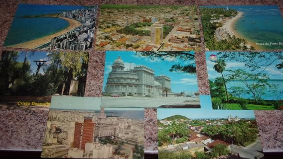 8 Postales Retro De América / Desde 1979 Hasta 2001