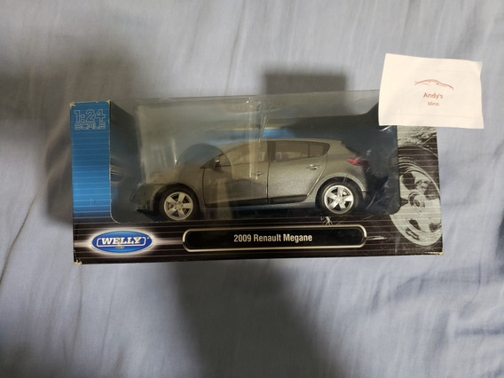 Miniatura 1.24 Welly Renault Megane 2009
