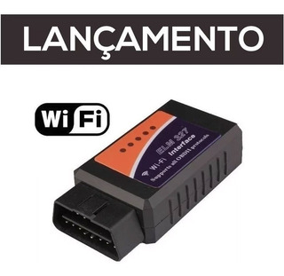 Scanner Mini Diag iPhone Wi Fi Android Obd2 Áutomotivo