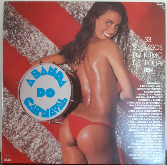 Lp - Banda Do Carnaval - 1985 - Vinil