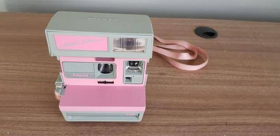 Câmera Polaroid Rosa No Estado Leia Tudo