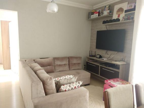 Apartamento Em Condomínio Principado De Louveira, Louveira/sp De 58m² 2 Quartos À Venda Por R$ 265.000,00 - Ap599156