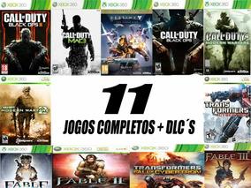 Pacote 11 Jogos Midia Digita + Dlc Xbox 360 Envio Imediato!