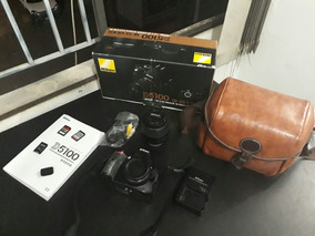 Camera Nikon D5100+lente 18-55mm Full Hd