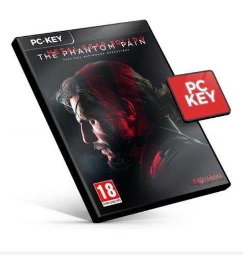 Steam Key Metal Gear Solid 5 The Phantom Pain Ptbr Código