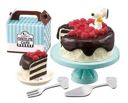 Re-ment Miniaturas Snoopy Chocolate Cafe 6 Barbie