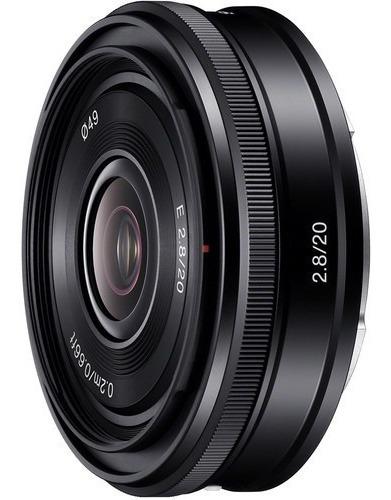 Lente Sony E 20 Mm F 2.8 (sel20f28)