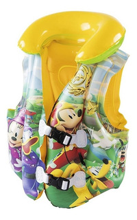 Chaleco Salvavidas Marvel Mickey Mouse Pileta Bestway