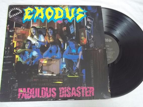 Lp Vinil - Exodus - Fabulous Disaster - Heavy Metal