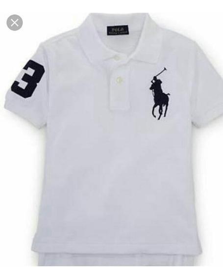 Camisa Polo Ralph Lauren Original Infantil Tam 7
