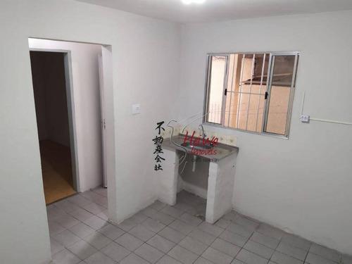 Imagem 1 de 9 de Casa Com 1 Dormitório Para Alugar, 46 M² Por R$ 700,00/mês - Vila Guedes - São Paulo/sp - Ca1254