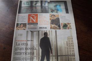 Revista Ñ Clarín N 448 Mad Men Rodrigo Rey Rosa Mukherjee
