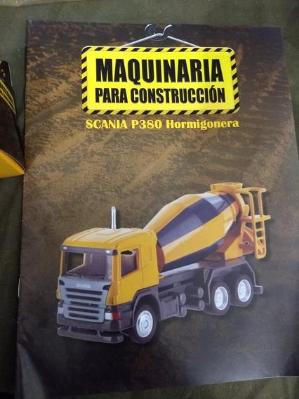 Colección Máquinas De Construccion . Scania P380 Hormigonera