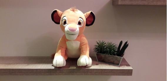 Simba Rei Leão Pelúcia 26cm
