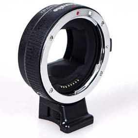 Adaptador Commlite Ef-nex Canon Sony Tipo Metabones