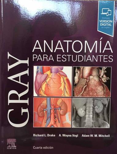 Gray Anatomia Para Estudiantes 4a Ed 2020 Libro Original