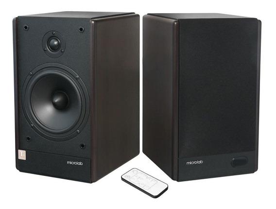 Par De Monitores De Audio Speaker 2.0 100w Rms Envios 24hs