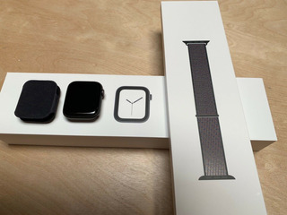 Apple Watch Series 4 Gps + Cellular 44mm Space Gray W Black