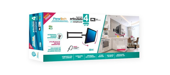 Suporte 4 Movimentos Monster 65,9cm Tv Led Primetech