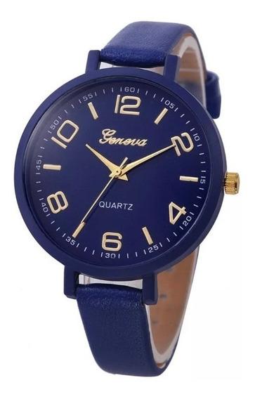 Relógio Quartz Geneva Color