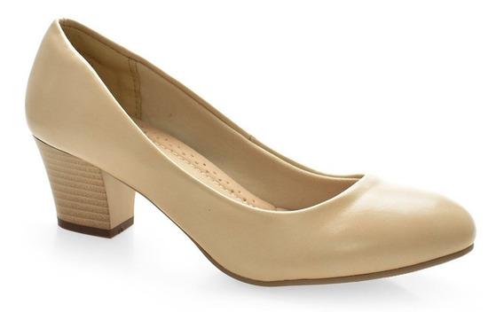 Sapato Scarpin Salto Médio Facinelli 62902