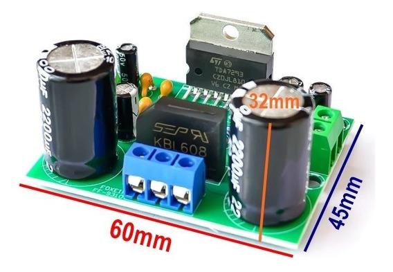 Tda7293 Amplificador De Audio 100w Rms Montado = Tda7294