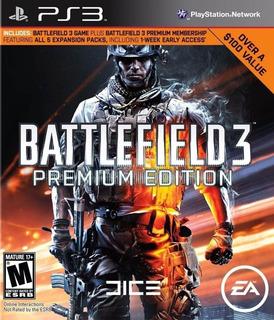 Battlefield 3 Premium Edition ~ Ps3 Digital Español