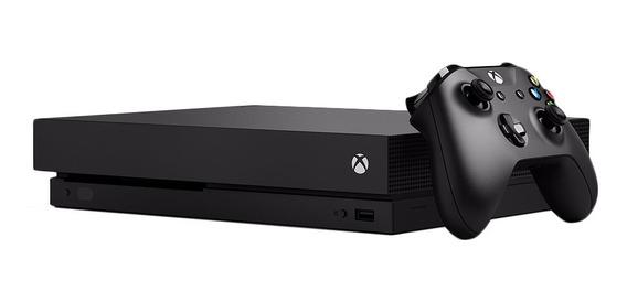 Consoles De Jogos Do Microsoft Xbox One X Preto