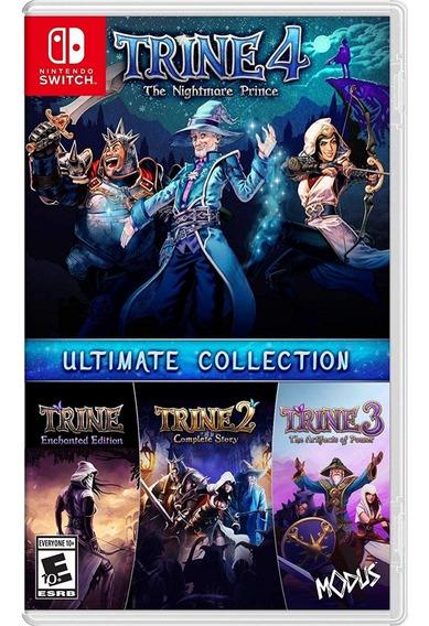 Trine Ultimate Collection Switch Mídia Física Novo Lacrado