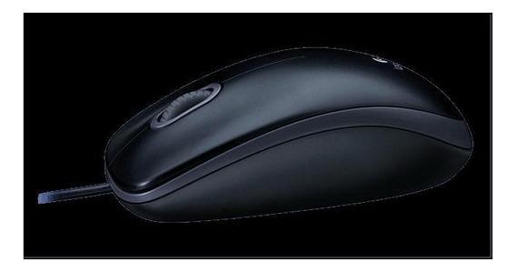 Mouse Logitech Óptico Usb Preto M90 910004053
