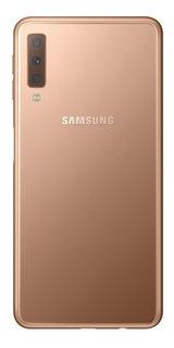 Smartphone Samsung Galaxy A7 Cobre 64gb Câmera Tripla 24mp+5mp+8mp 4g Sm-a750gzdjzto