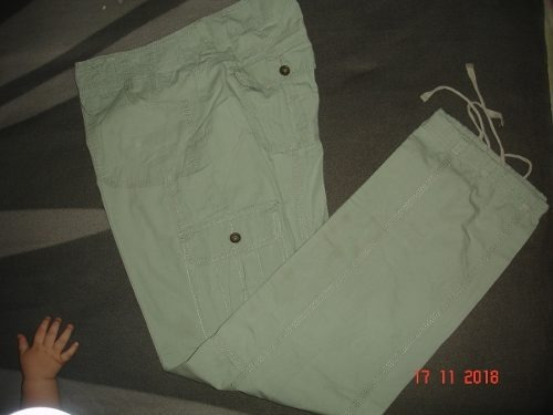 Pantalon Dama Deportivo Talla 10 Con Bolsillos