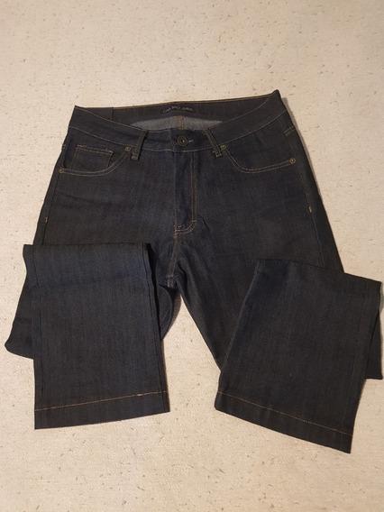 Pantalón De Jean Hombre Elastizado Color Azul Ona Saez