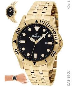 Relógio Masculino Champion Dourado Ca31560u