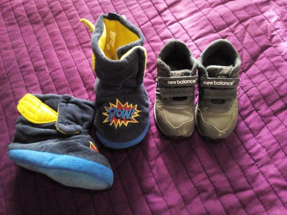 Promo $480 Zapatillas Originales New Balance Pantuflas Osh K