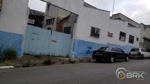 Imagem 1 de 15 de Galpão À Venda, 795 M² Por R$ 2.659.574,90 - Chácara Mafalda - São Paulo/sp - Ga0162