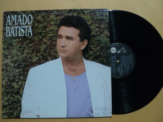 Lp Amado Batista- Um Pedaço De Mim- 1992- Frete 15,00