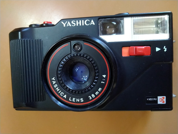 Câmera De Filme Yashica Mf-3